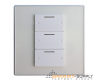 """3Bc"" 3 Button Smart Soft Switch Digital Wall Panel   (G4s) SB-3Bc-EU  GTIN: EAN / UPC13 0610696254283"