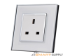 Electrical socket, 3 PIN UK