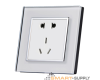 Electrical Socket, 3PIN Australian +2Pin Dual