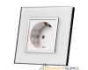 Electrical Socket, 2 PIN Europe German